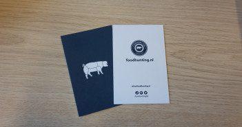 Foodhunting visitekaartjes