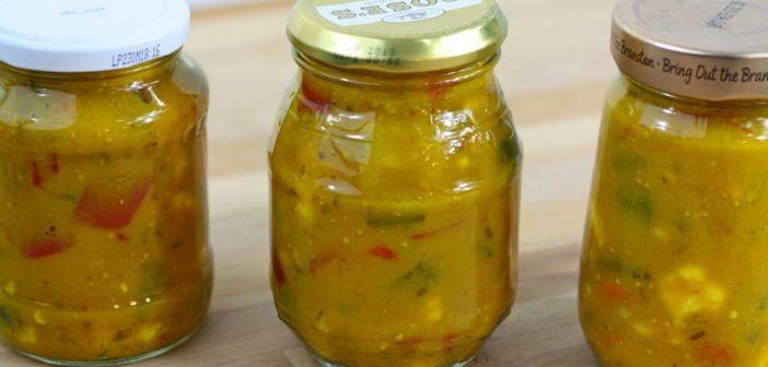 Maak eenvoudig je eigen huisgemaakte piccalilly