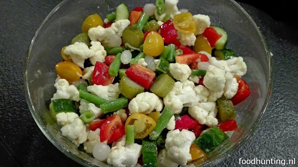 Recept voor huisgemaakte piccalilly
