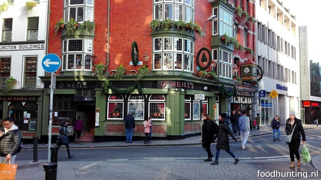 De beste restaurants en pubs in dublin