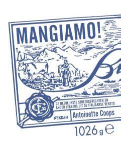 Mangiamo - Antoinette Coops - cadeau voor sinterklaas of kerst