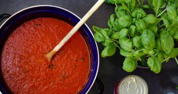 Italiaanse tomatensaus basisrecept