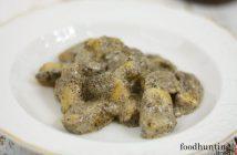 Gnocchi met truffelroomsaus - gnocchi di patate