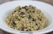 Paddenstoelen risotto met guanciale
